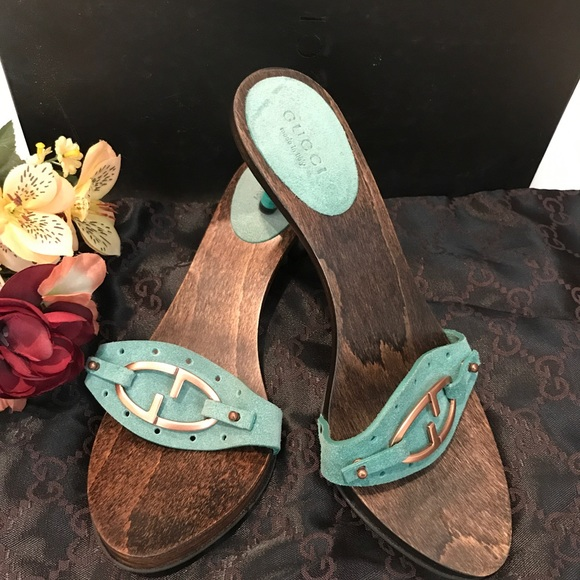 addc70306 🌟Authentic Gucci sand Pelle S Gomma sandals